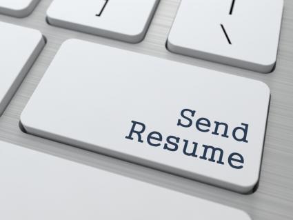sending CV