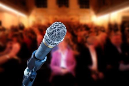 presentation in public