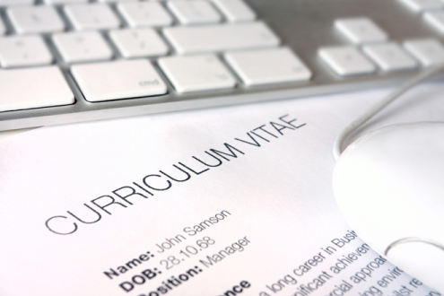 build a creative CV